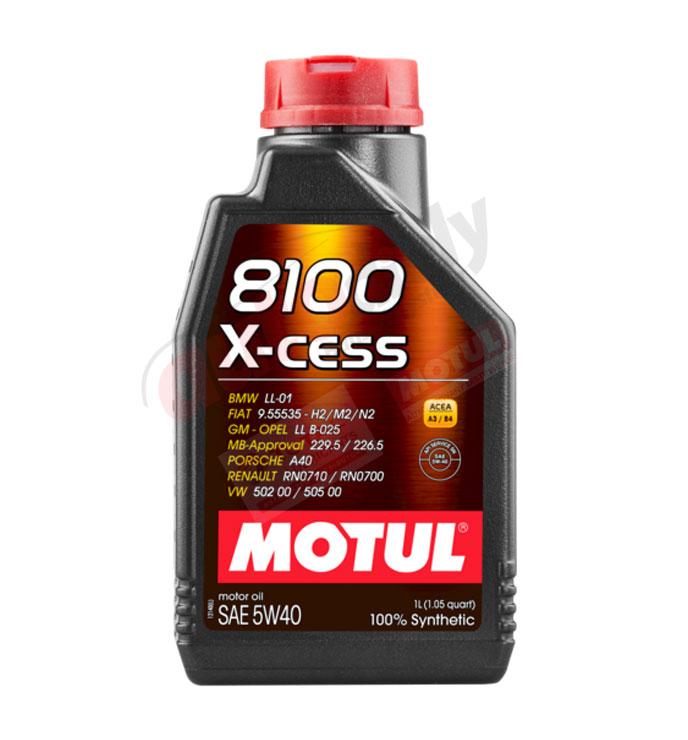 MOTUL 5w-40 8100 X-CESS gen2 - 1L (109774)