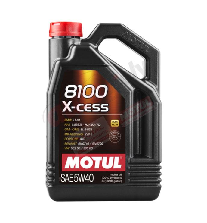 MOTUL 5w-40 8100 X-CESS gen2 - 5L (109776)