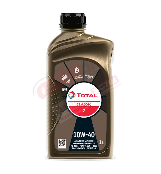 Total 10w-40 classic 7 1L (213752)