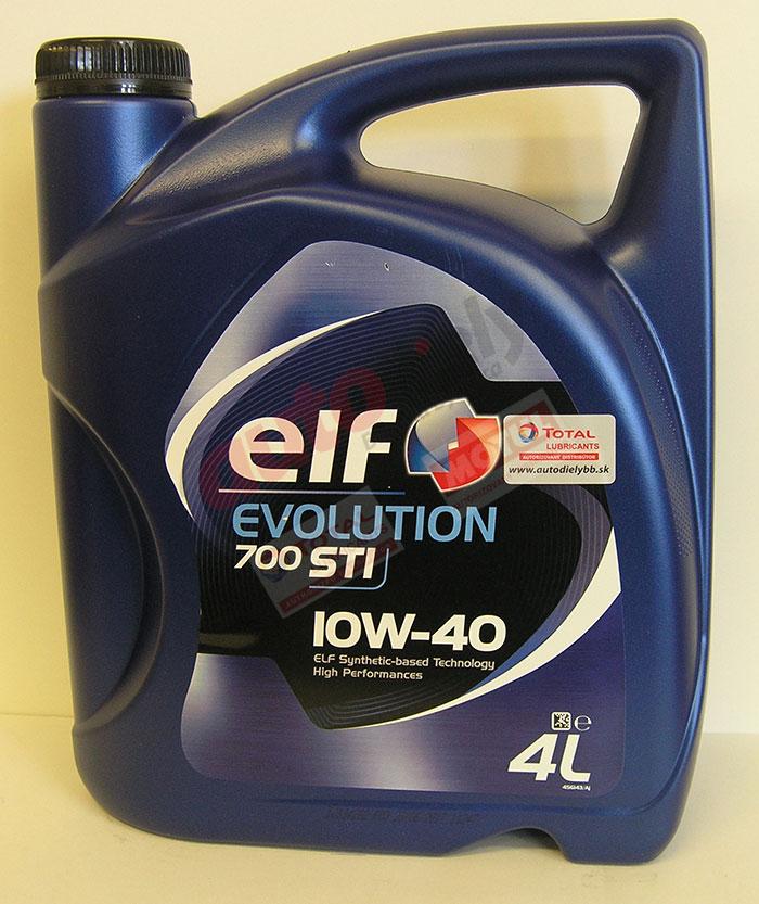 Elf 10w-40 Evolution 700 STI 4L (201552) (214120) (201551)