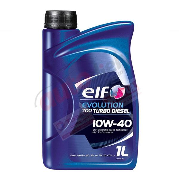 Elf 10w-40 Evolution 700 TD 1L (201558) (214126)