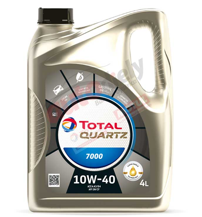 TOTAL QUARTZ 7000 10W-40 4L (201523) (214107)