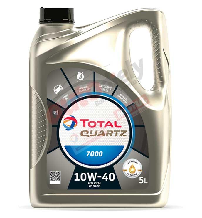 Total 10w-40 Quartz 7000 5L (201525) (203703) (214109)