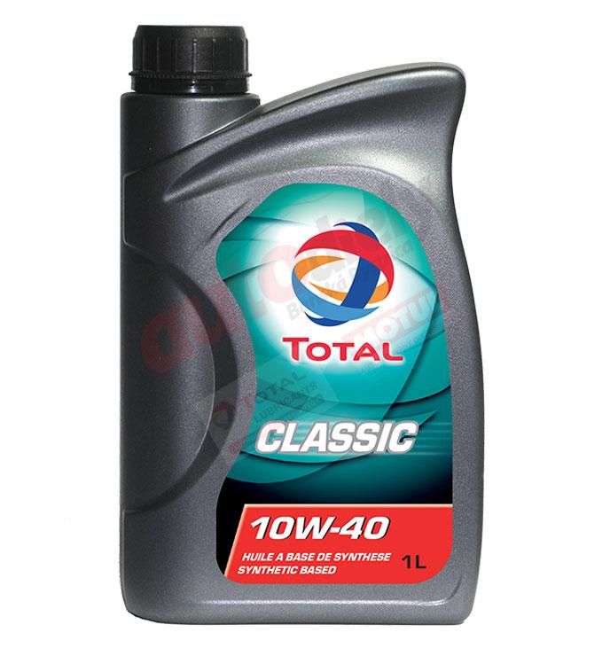 TOTAL 10W-40  CLASSIC 1L (166215)