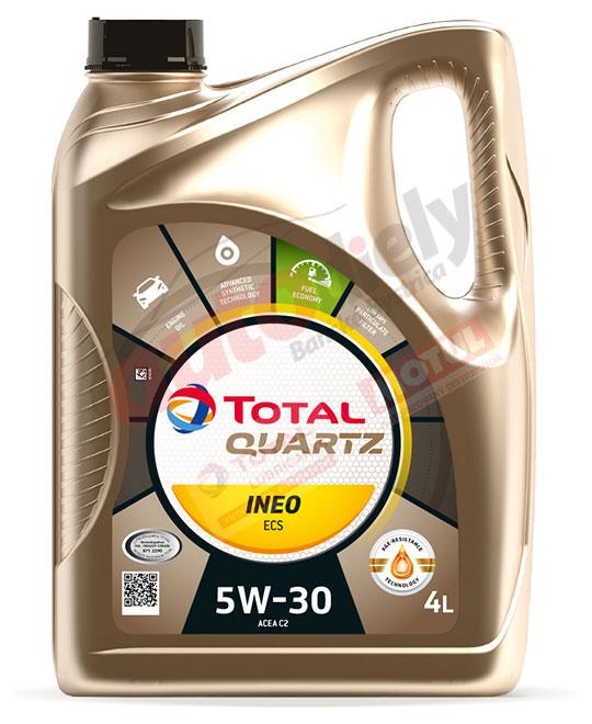 Total 5w-30 Quartz Ineo Ecs 4L (213685) (151510)