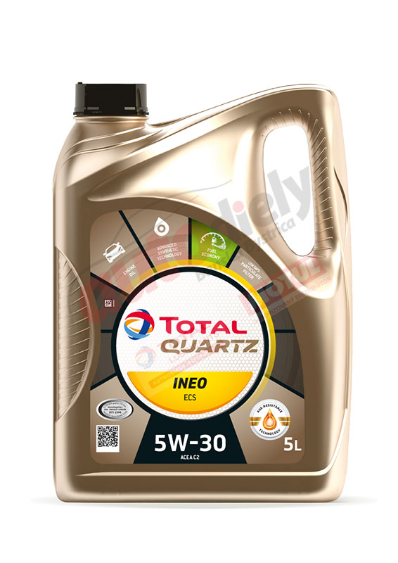 Total 5w-30 Quartz Ineo Ecs 5L (151261) (213683)