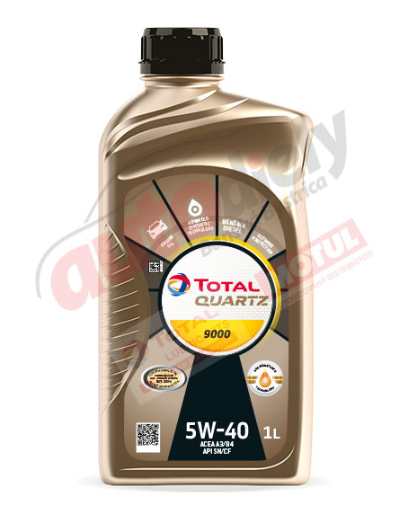Total 5w-40 Quartz 9000 1L (166243) (168034) (213764)