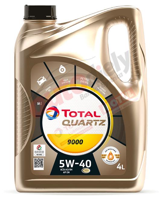 Total 5w-40 Quartz 9000 4L (213674)