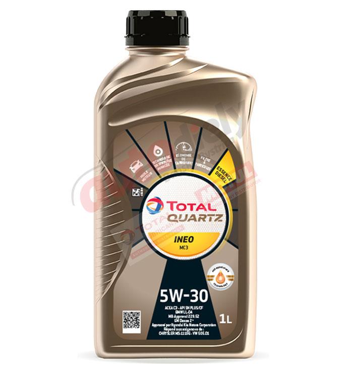 Total 5w-30 Quartz Ineo MC3 1L (166254) (213769)