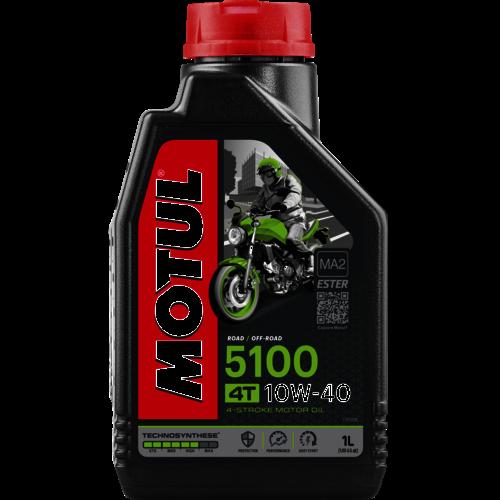 MOTUL 10W-40 5100  4T 1L (104066)