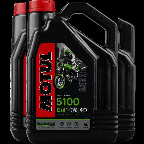 MOTUL 10W-40 5100 4T 4L (104068)