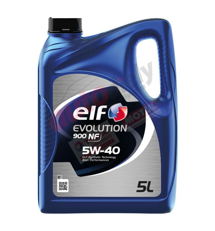 Elf 5w-40 Evolution 900 NF 5L (194872) (213908)