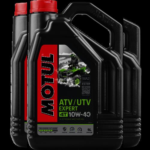 MOTUL 10W-40 4T ATV UTV EXPERT 4L (105939)