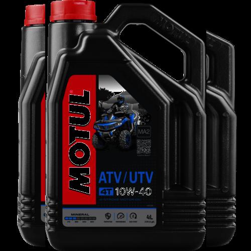 MOTUL 10W-40 4T ATV-UTV 4L (105879)