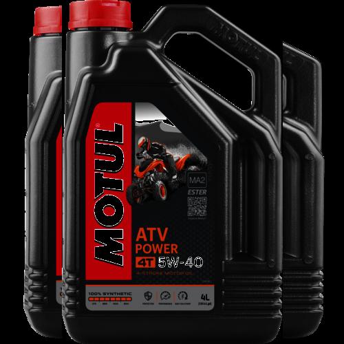 MOTUL 5W-40 ATV POWER 4T 4L (105898)