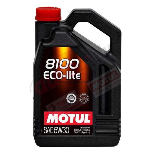 MOTUL 5W-30 8100  ECO-LITE 5L (108214)