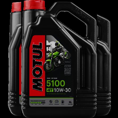 MOTUL 10W-30 5100 4T 4L (104063)