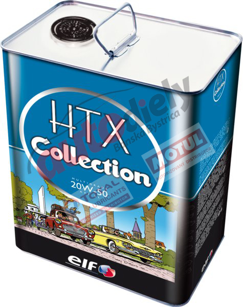 ELF 20w-50 HTX COLLECTION 2L (205743)