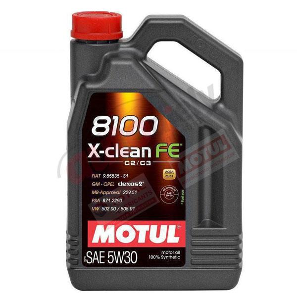MOTUL 5W-30 8100 X-CLEAN FE 4L (104776)