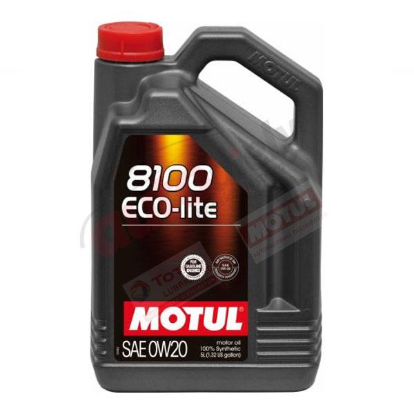 MOTUL 0w-20 8100 ECO-LITE 5L (108536)