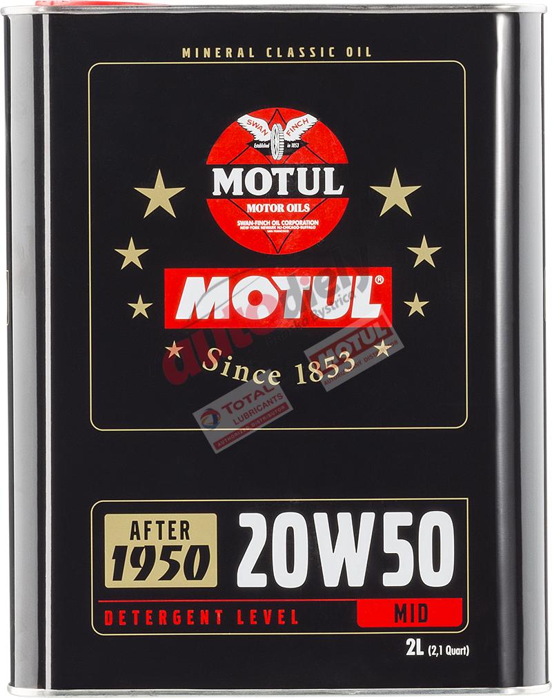 MOTUL 20W-50 2L (104511)