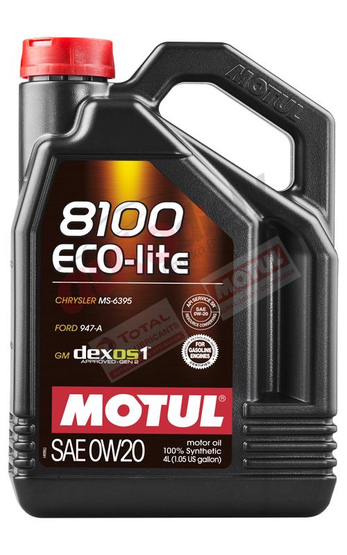 MOTUL 0w-20 8100 ECO-LITE 4L (108535)