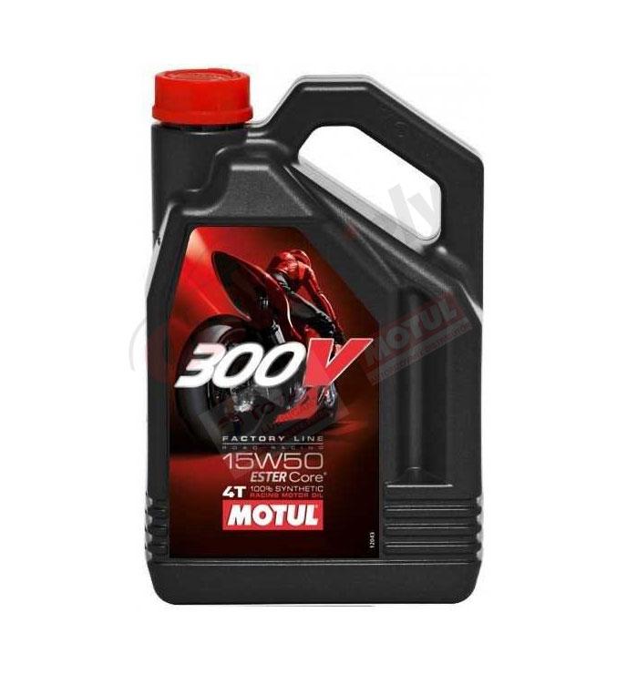 MOTUL 15W-50 300V 4T FL 4L (104129)