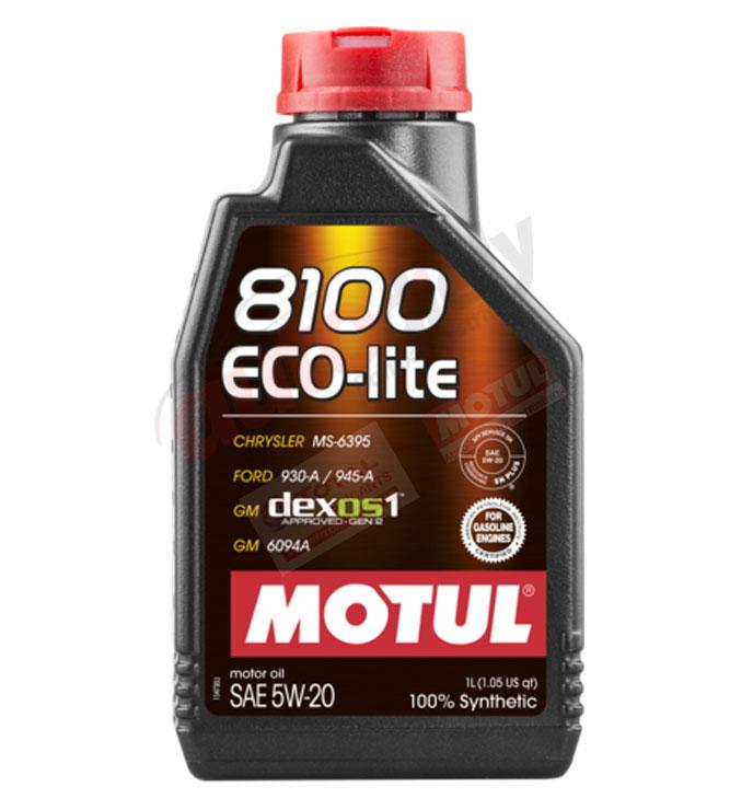 MOTUL 8100 ECO-LITE 5W-20 1L (109102)