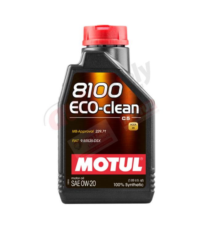 MOTUL 0w-20 8100 ECO-CLEAN - 5L (108862)
