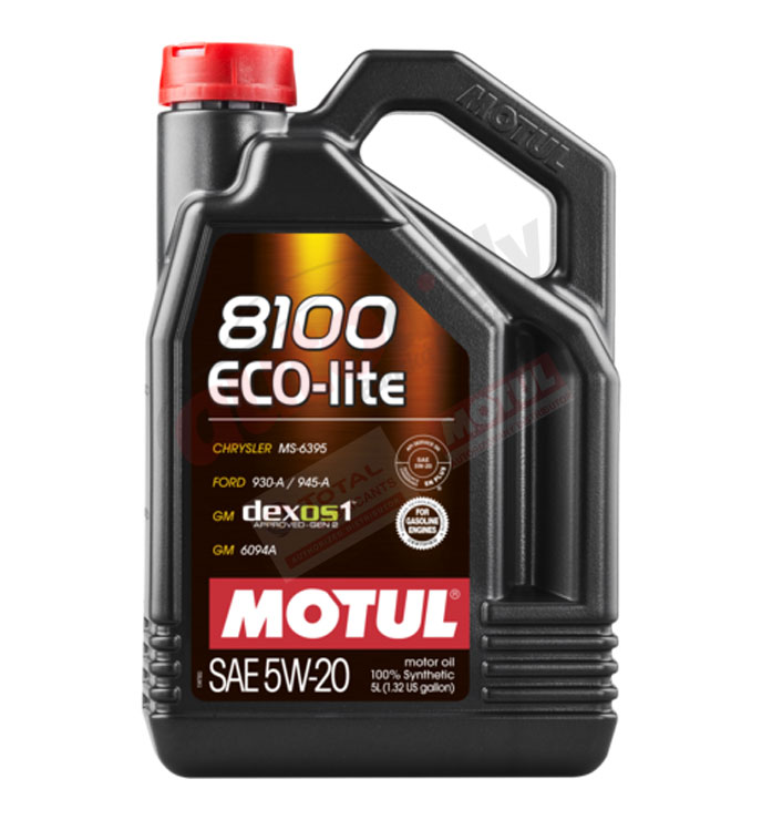 MOTUL 8100 ECO-LITE 5W-20 5L (109104)