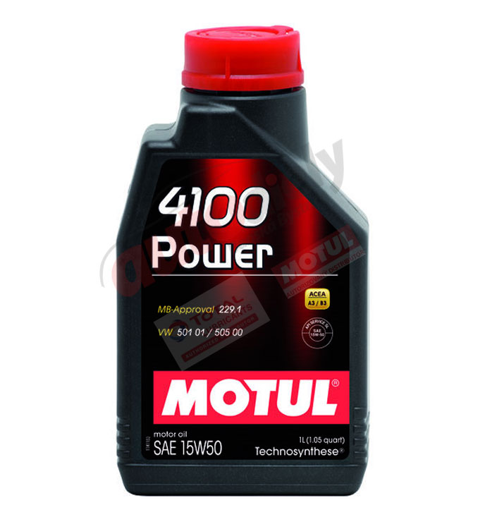 Motul 15w-50 Power 4100 1L (102773)