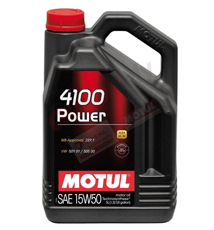 Motul 15w-50  power 4100 5L (100273)