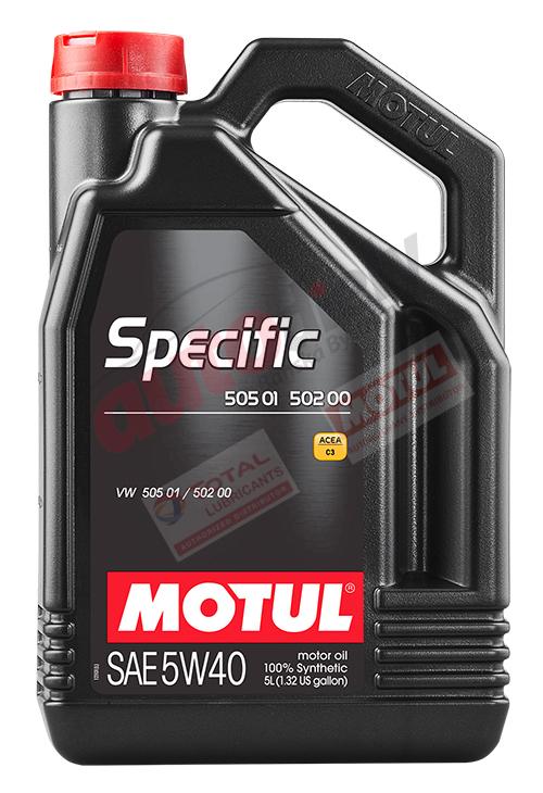 MOTUL 5W-40 SPECIFIC 505.01 502.00 5L (101575)